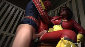 Jenna Presley - Superman Vs. Spiderman sc5