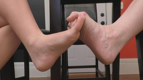 Big Feet Toe Grab Footsie