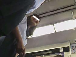 ppn043 【投稿作品】盗撮列車  Vol.43 kのスカートの中のパンチラ拝見!