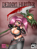 Updated new sexy comic by Evil-Rick - Demon Hunter Ongoing