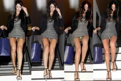 Selena Gomez (1 CO) Upskirt , Gala Beverly Hills 2011
