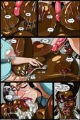 New futanari comic by Transmorpher dds - Banana Cream Cake 18 - Family Doctor
